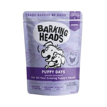 BARKING HEADS Puppy Days kapsička 300g
