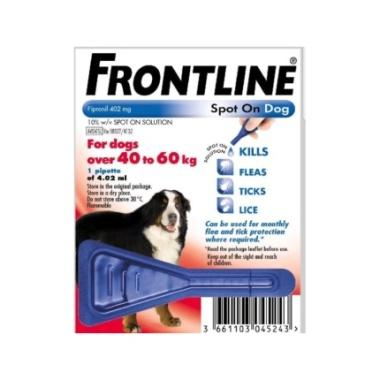 Frontline Spot-On Dog XL sol 1x4,02ml