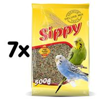 Sippy deluxe krmivo pro andulky 500g multipack 7ks