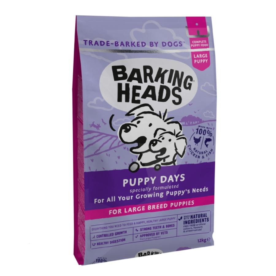 BARKING HEADS Puppy Days NEW (Large Breed)18kg