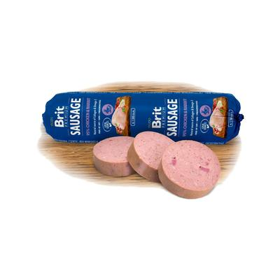 Brit Sausage Chicken & Rabbit 800g