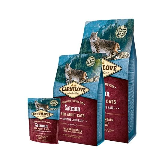 Carnilove Cat Salmon for Adult Sensitiv & LH 400g