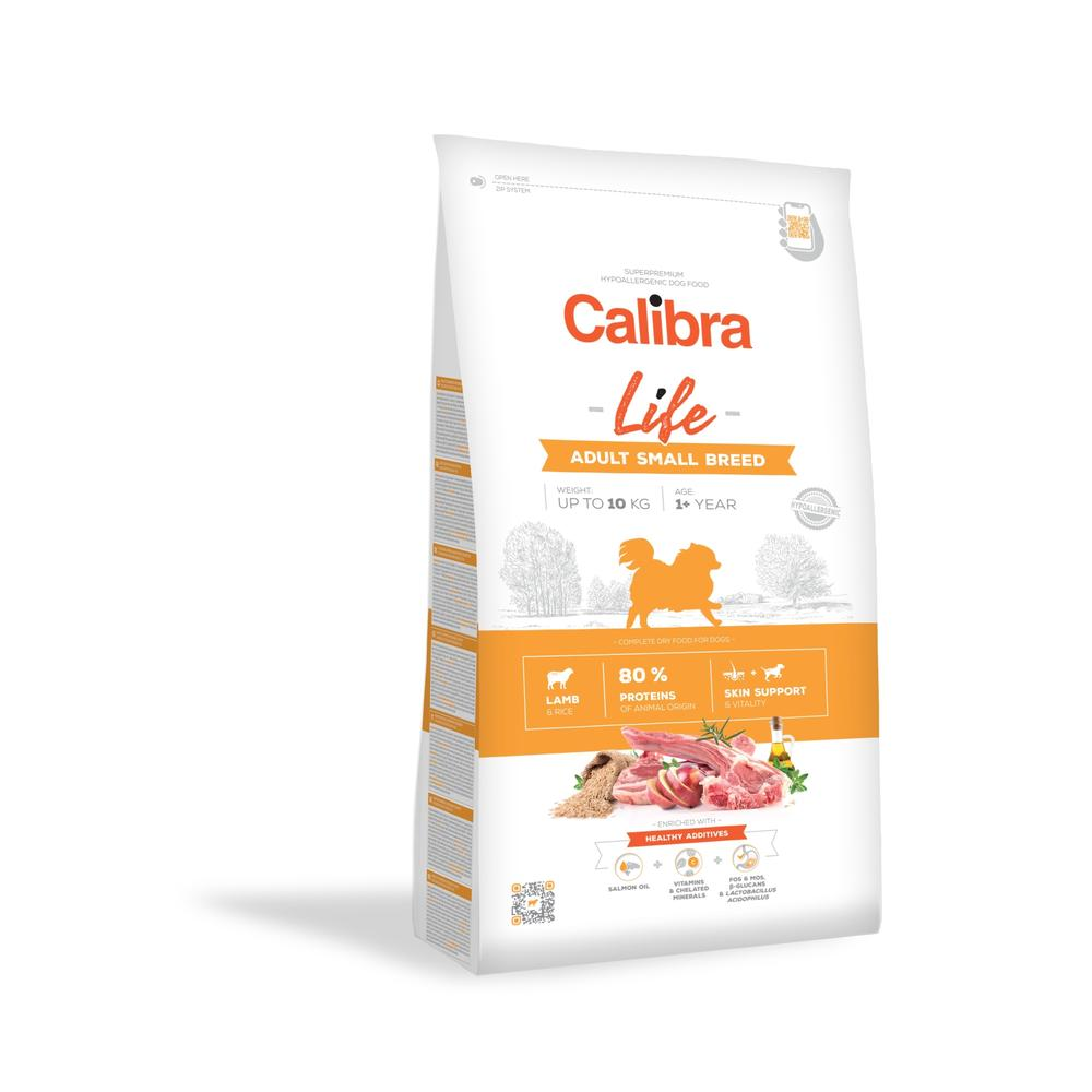 Calibra Dog Life Adult Small Breed Lamb 1,5 kg