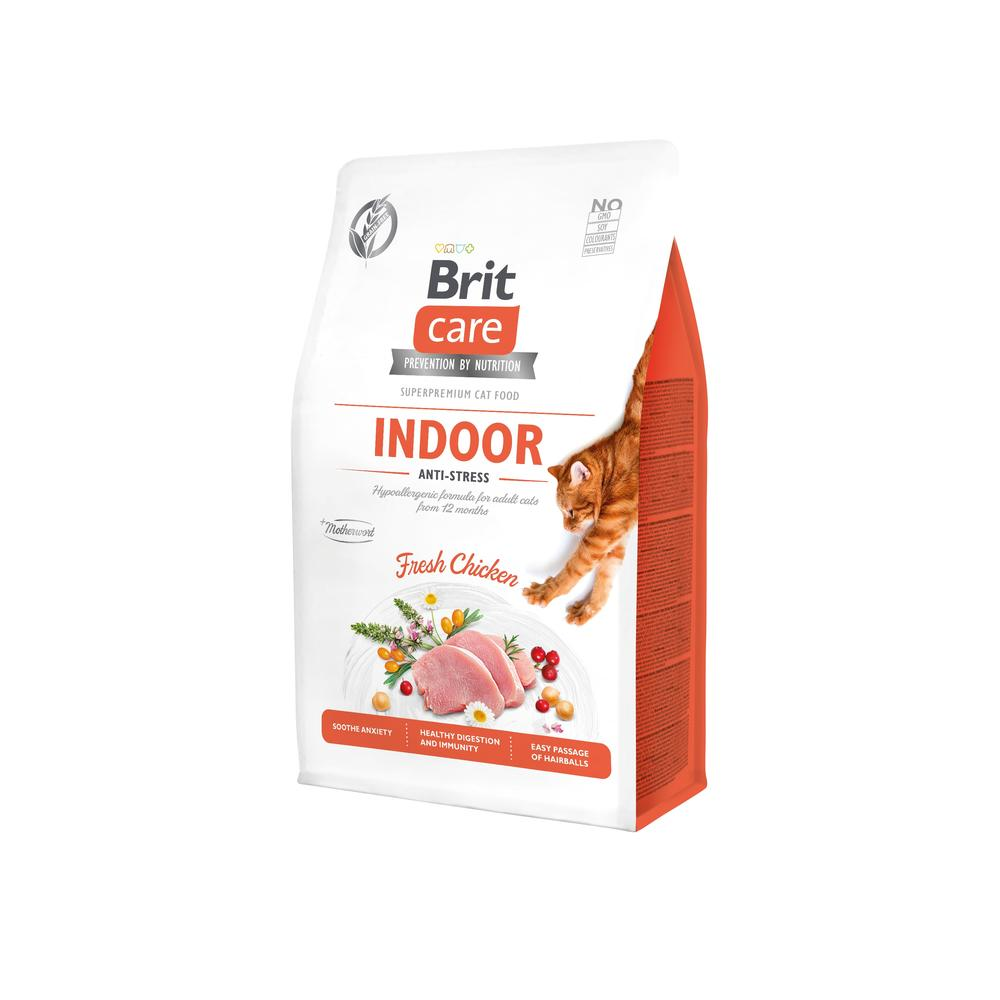 Brit Care Cat GF Indoor Anti-stress, 0,4kg