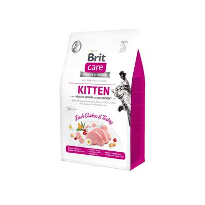 Brit Care Cat GF Kitten Healthy Growth&Develop. 0,4kg