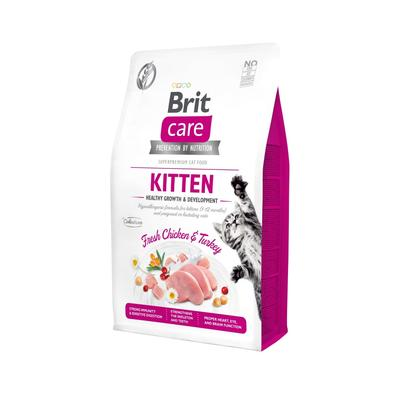 Brit Care Cat GF Kitten Healthy Growth&Development 2kg