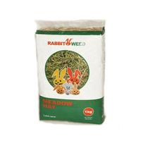 RabbitWeed seno luční 1kg 40l