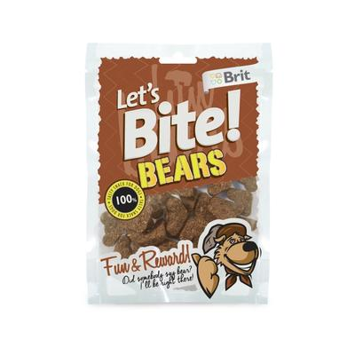 Brit pochoutka Let's Bite Bears 150g