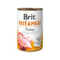 Brit Dog Paté & Meat Turkey 400g