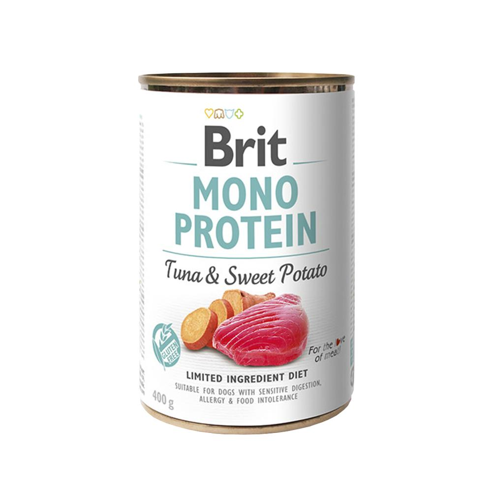 Brit Dog Mono Protein Tuna & Sweet Potato 400g