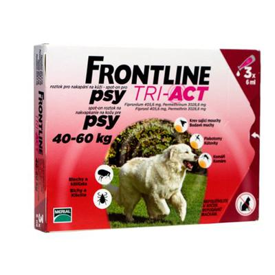Frontline Tri-Act pro psy Spot-on XL 40-60 kg