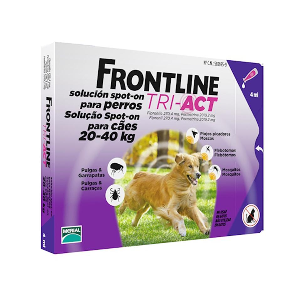 Frontline Tri-Act pro psy Spot-on L 20-40 kg