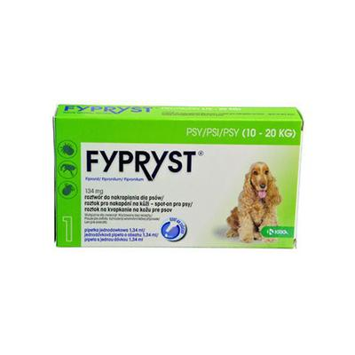 Fypryst Spot-on Dog M 10-20kg 1x1,34ml