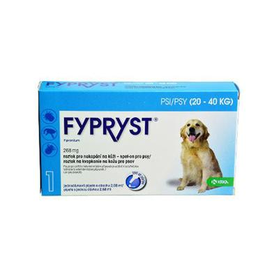 Fypryst Spot-on Dog L 20-40kg 1x2,68ml